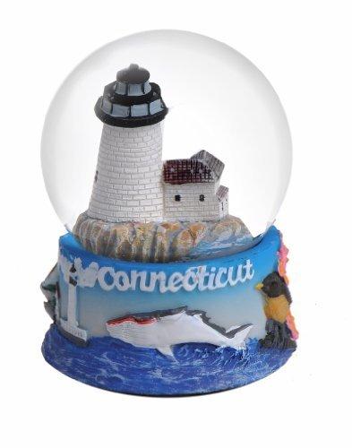 Connecticut Snow Globe 65mm