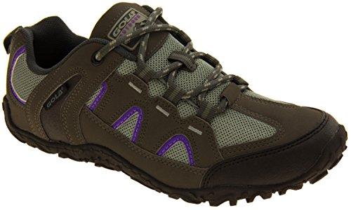 Footwear Studio Mujer Gola Rugged Senderismo, Caminar, Trekking Zapatos Gris