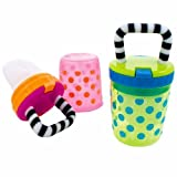 Baby : Sassy Polka Dots Teething Feeder - Assorted Colors (Pack of 2)