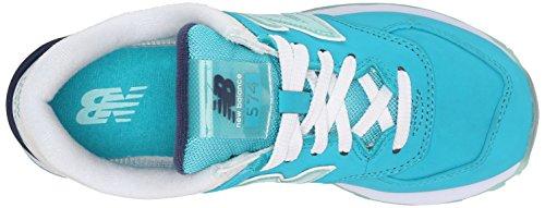 Zapatillas Nubuck Para New Blue BalanceWL574 Mujer B Deportivas Teal ax1RqH1