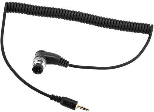 2 Pack Vello 2.5mm Remote Shutter Release Cable for Nikon 10-Pin Cameras