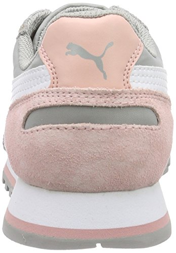 PUMA ST Runner NL - Zapatillas para mujer drizzle-white-coral cloud pi