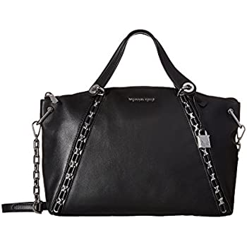 3c0ffc6e1d7b Amazon.com  MICHAEL Michael Kors Sadie Leather Large Top Zip Satchel ...