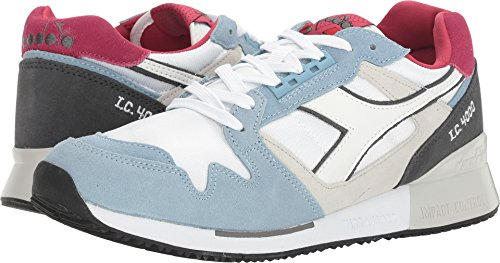 Diadora Unisex I C 4000 Nyl Ii Blue Bell Steel Gray 12 5 Women 11 Men M Us
