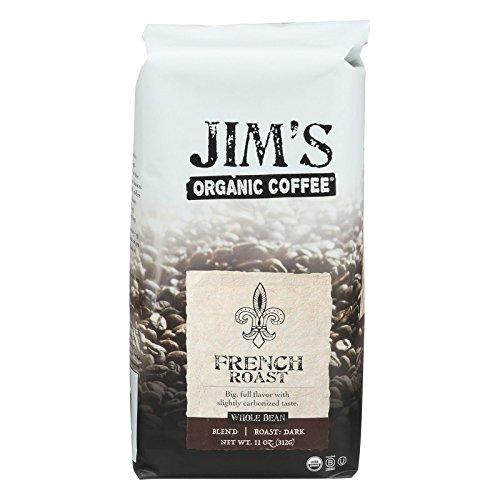 Jims Organic Coffee Whole French