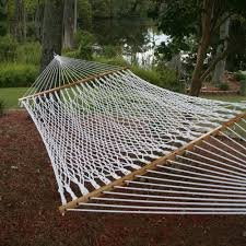 65 Extra Wide Deluxe Polyester rope hammock