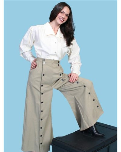 Rangewear By Scully Women's Rangewear Brushed Twill Riding Skirt Tan 6