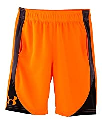 Under Armour Little Boys' Pre-school Ua Flare Shorts 6 Blaze Orange