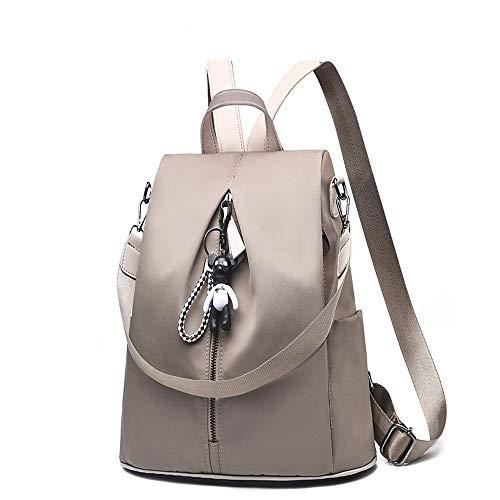 2019 Battier nero di in Tessuto Fashion 32 nylon altezza di Leisure Backpack Nuove e Grigio 13 Wild donne 32 larghezza cm impermeabile Oxford cm wzw7qp4Sr