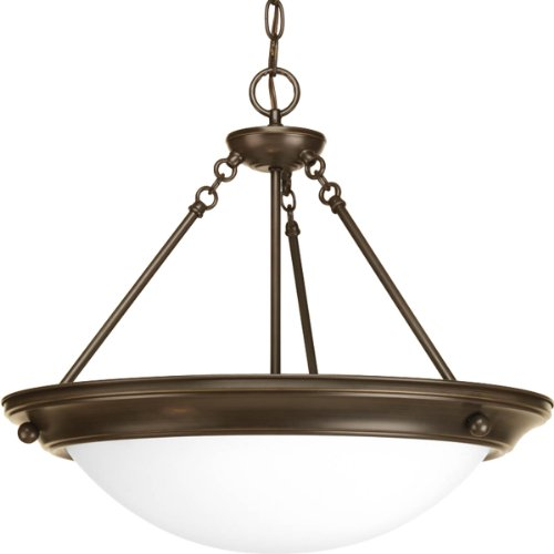Progress Lighting P7322-20WB G24Q Inverted Pendant, 3-26-watt