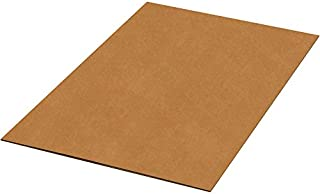 """product image for Partners Brand PSP4042DW Double Wall Corrugated Sheets, 40"""" x 42"""", Kraft (Pack of 5)"""