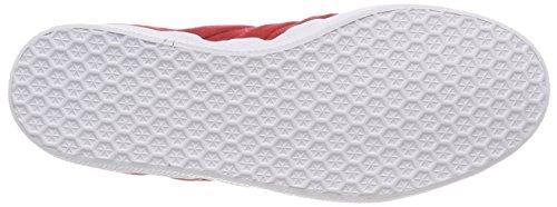 Turn Rojuni Men and 000 adidas Gazelle Trainers Stitch Red Ftwbla xOTqIq1