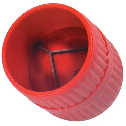 ALKAN - 2 in 1 Kupferrohr Rohre Entgrater fü r INNEN und AUß EN 6-38 mm Kunststoffkö rper