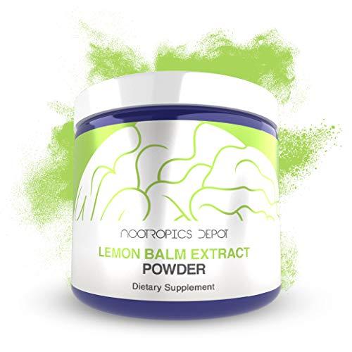 Lemon Balm Extract Powder 125 Grams Powder   Support Healthy Stress Levels   Enhance Mood, Focus and Sleep