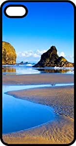 Low Tide In Paradise Survivor Black Plastic Case for Apple iPhone 5 or iPhone 5s