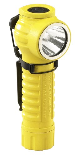 Streamlight 88831 PolyTac 90 LED Right Angle Polymer Flashlight, Yellow - 170 Lumens ()