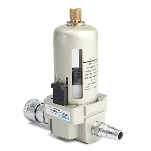 Price comparison product image Hitommy Af3000-02 In Line Particulate Air Filter 1 / 4 Inch Water Trap Regulator Separator Compressor