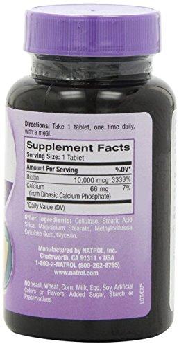 Amazon.com: Vitaminas Para El Cabello - Ayudan a Crecer El Pelo - 10,000mcg - 60 Tabletas: Health & Personal Care
