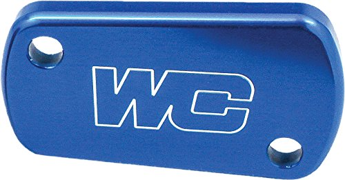 04-16 KAWASAKI KX250F: Works Connection Rear Brake Reservoir Cap (BLUE)