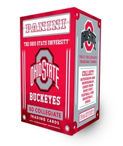 2015 Panini Ohio State Buckeyes Multi Sport Blaster Box w/ 10 Packs Each w/ 8 Cards. Autographed or Memorabilia Card in EVERY Box!