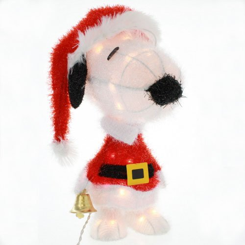 Outdoor Lighted Snoopy - 8