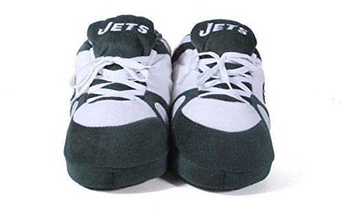 New Slippers Sneaker Jets Feet LICENSED Feet NFL Happy and OFFICIALLY Womens Mens Comfy York gPzwqnx4vv