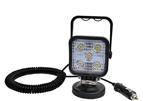 LED working light 12//24/volt 5/LEDs 3/Meter Coiled Magnetic Base IP67/600/LM