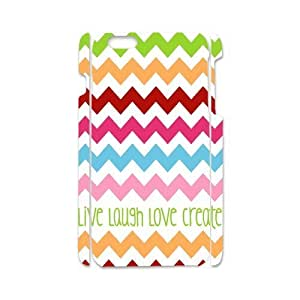 iPhone 4 4s Case Stylish Live Laugh Love Quote Colorful Chevron iPhone 4 4s