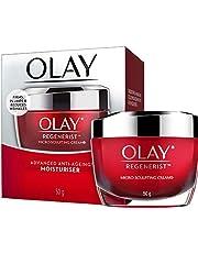 Olay Regenerist Micro Sculpting Face Cream Moisturiser, 50g