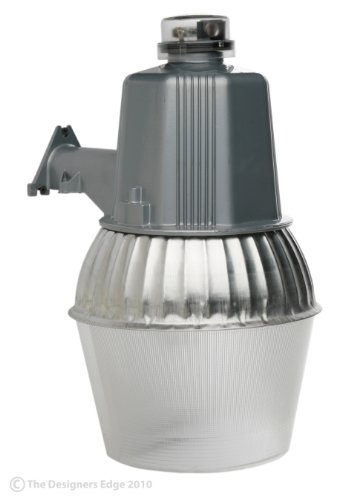 Woods L1730 Cci Modern High Pressure Sodium Security Farm Light, Powder Coated Housing, (1) Ed17 Lamp, 120 V, 75 W, 70-Watt, Silver