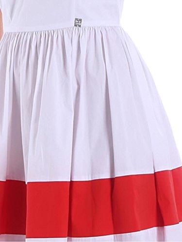 SIZE Misto Cotone YS82FA in RED TWIN MY Abito WHITE M txq4ZWgw