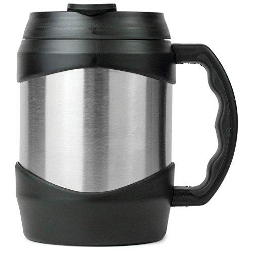 (Maxam KTMUG52 Stainless Steel Oversized Mug, 52 oz, NA)