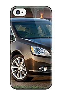 4/4s Scratch-proof Protection Case Cover For Iphone/ Hot Buick Verano Brown Parked Phone Case