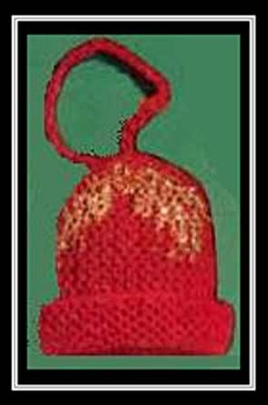 Knitted christmas bell vintage 1951 knitting pattern for Knitted christmas bells