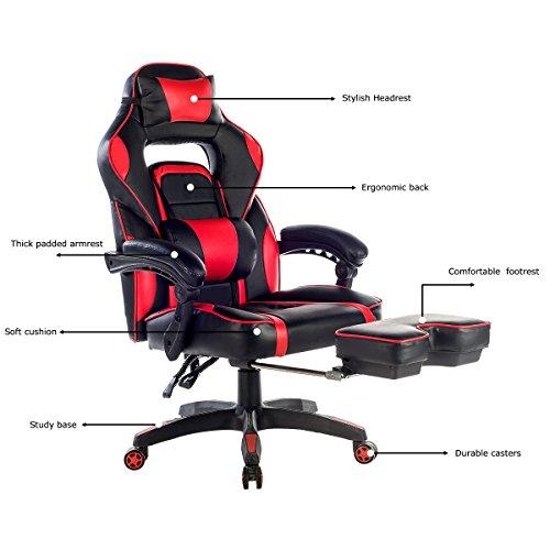 Merax HighBack Racing Home Office Chair Ergonomic Gaming Chair