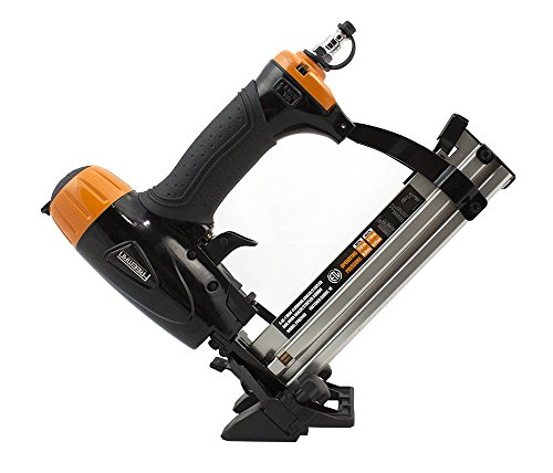 "Freeman PFBC940 Pneumatic 4-in-1 18-Gauge 1-5/8"" Mini Flooring Nailer and Stapler Ergonomic and Lightweight Flooring Nail Gun with Tool-Free Quick Release Latch"