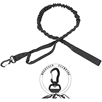 Amazon Com Pskook Bungee Dog Leash Tactical Control Training Lead