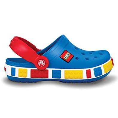 free shipping 838ab 636a0 Crocs Crocband Kids Lego, sea blue/red, Gr. 23-24 (C6/7 ...