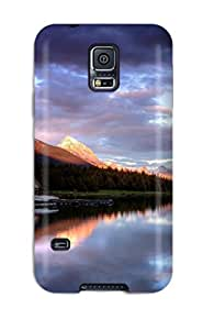 High Quality Shock Absorbing Case For Galaxy S5-lake