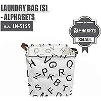 HOUZE Laundry Bag, Small, Alphabets