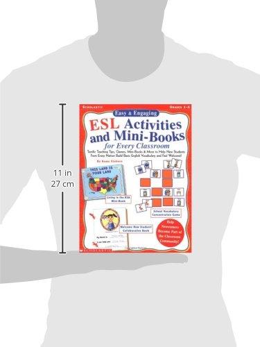 Amazon.com: ESL Activities and Mini-Books for Every Classroom ...