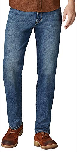 Lee Men's Performance Series Extreme Motion Straight Fit Tapered Leg Jean, Blue Prodigy, 32W x 30L
