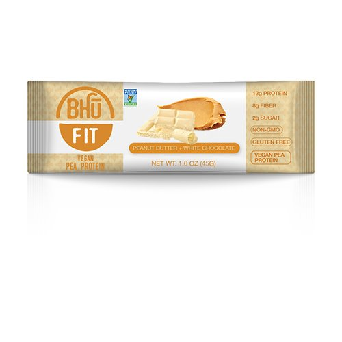 BHU BAR Peanut Butter White Chocolate Protein BAR
