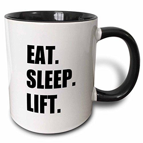 3dRose mug 180419 4 Weightlifting Lifting Building