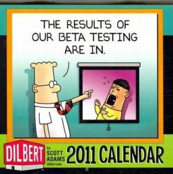 Dilbert: 2010 Mini Wall Calendar
