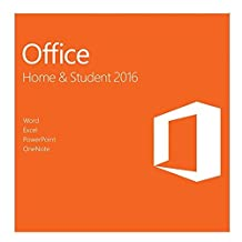 Monoprice Microsoft Office 2016 Home and Student Windows 1 PC Key Card (79G-04589)