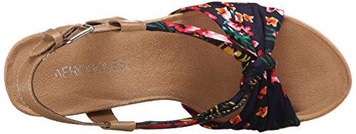 Aerosoles Plush Pillow Donna Tessile Sandalo con la Zeppa