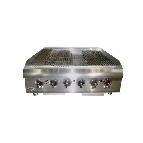 APW Wyott HCB-2424I 24'' Cookline Radiant Gas Charbroiler by APW Wyott