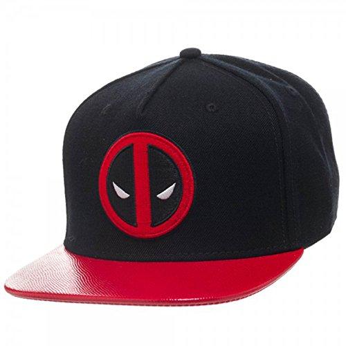 a39b956cef8 Marvel Deadpool Flatbill Adult Snapback Cap Deadpool Hat One Size Fits  Most  Amazon.co.uk  Toys   Games