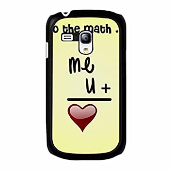 Hot Arithmetic Design Love Quotes Phone Case Cover For Samsung